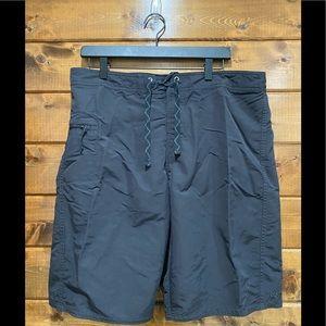 Patagonia Men's Solid Black Swim Trunks